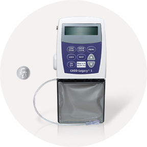 CADD-Legacy 1 is a widely used, portable IV pump for continuous IV delivery